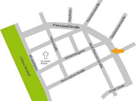 Plan Franz-Josef-Straße 22